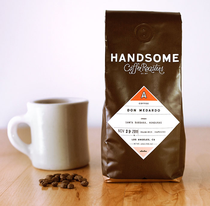 Mighty Handsome Coffee Packaging – Dear Coffee, I Love You.