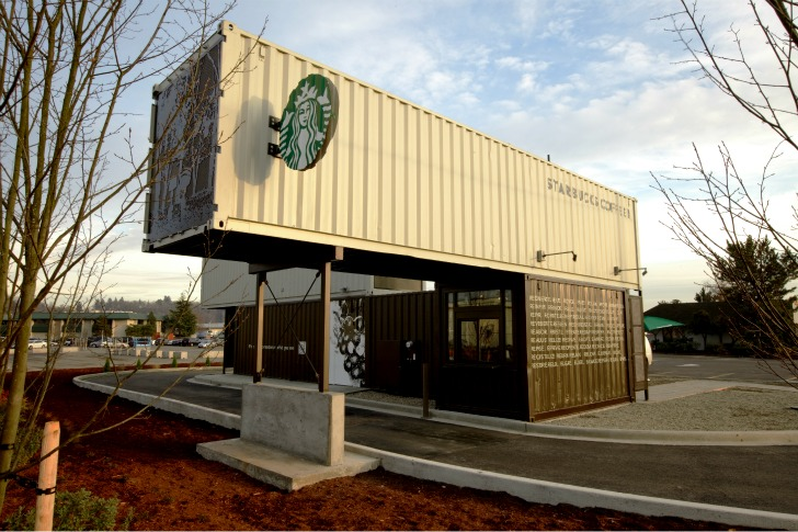 starbucks sustainable container drive thru dear coffee i love you. Black Bedroom Furniture Sets. Home Design Ideas