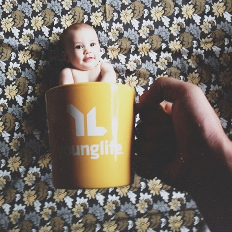 Baby Mugging – Dear Coffee, I Love You.