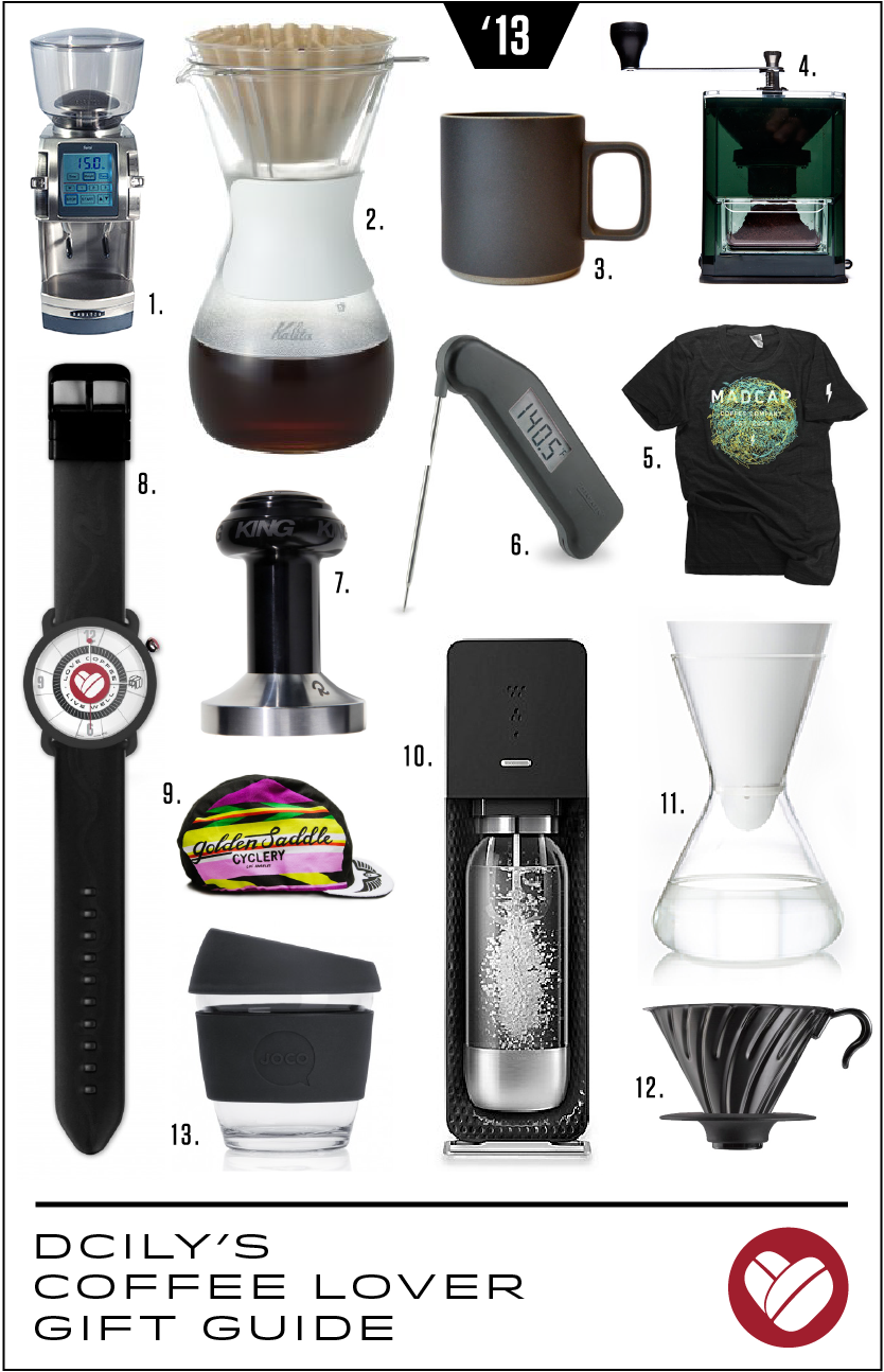 DCILY's Coffee Lover Gift Guide 2013 – Dear Coffee, I Love You.