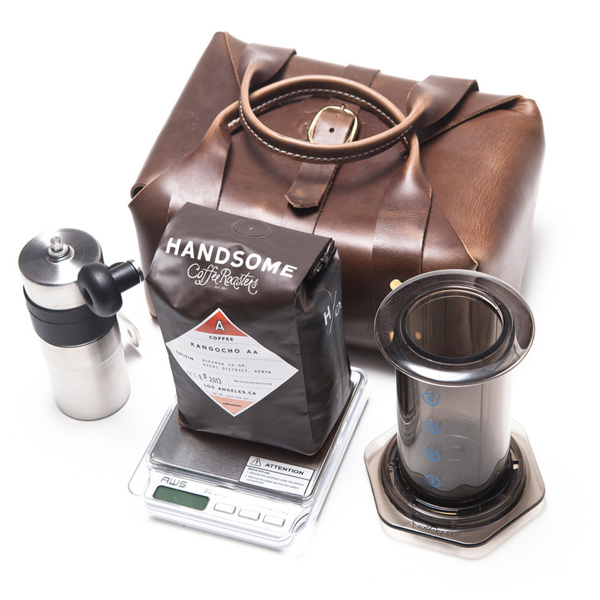 Travel Coffee Maker Kit : The Handsomex3Sixteen Coffee Travel Kit Dear Coffee, I Love You.