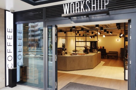 First Look: Workshop Holborn Coffeebar