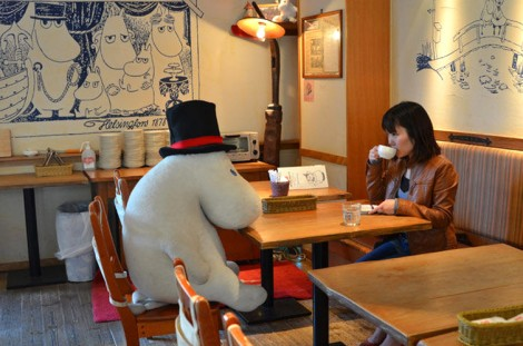 A Moomin Cafe: So Much Better Than Cats